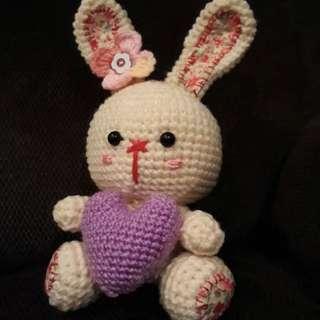 Bunny Winnie handmade