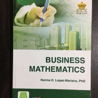 Business Mathematics ABM