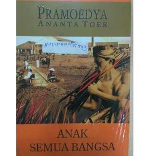 Novel Pramoedya Ananta Toer Anak Semua Bangsa