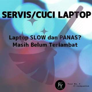 Servis/ Cuci Laptop/PC