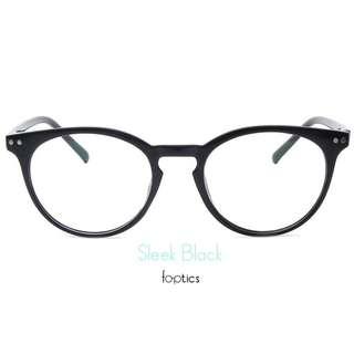 foptics Eyewear - Prescription Glasses - Parker in Sleek Black