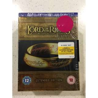 The Lord of the Rings Trilogy Extended Edition (15 Disc Set)