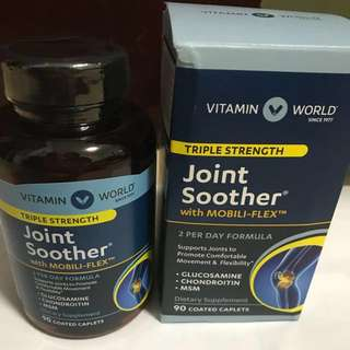 Vitamin World Joint Soother 90 coated caplets