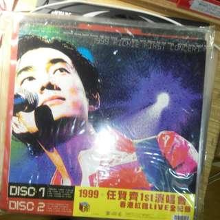 [賣場購買五件以上免運]1999任賢齊1st演唱會香港紅館Live 全紀錄