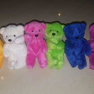 LOVELY LACE Teddy Bears of 6