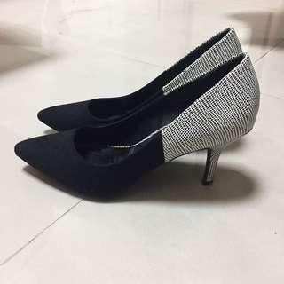 🇬🇧NEW LOOK黑色百搭跟鞋