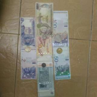 Old ringgit collection