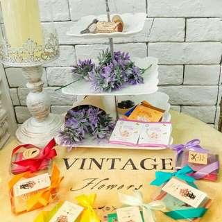 英國茶小回禮 散水餅 wedding table gifts