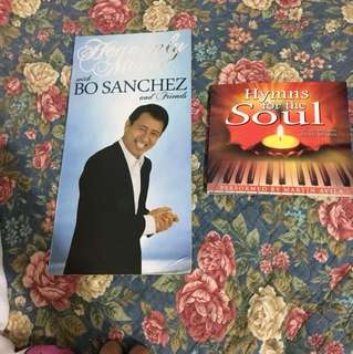 Inspirational/ Soulful Music CDs- Bo Sanchez and others