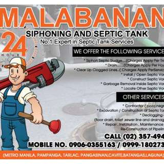 Pasig city : Septic Tank Siphoning Services 023574945