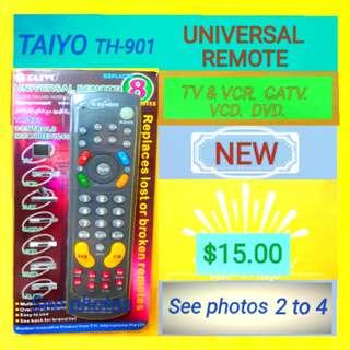 TAIYO Universal Remote