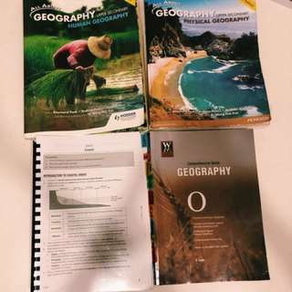 Confirm A1 Geography textbooks/notes