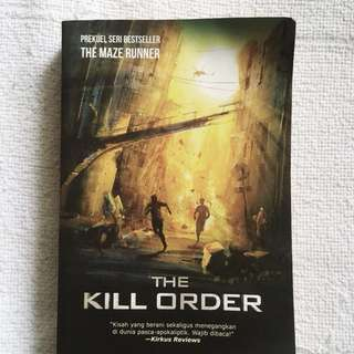 THE KILL ORDER Novel : Bahasa