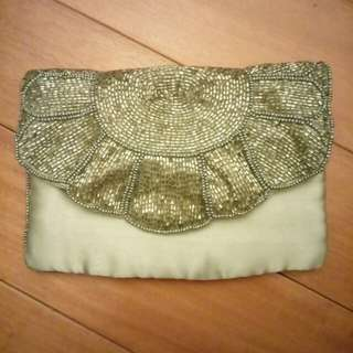 Lanes Accessories sequined jewellery and accessories bag