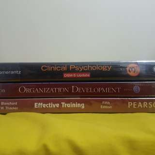 Psych academic books for sale!!