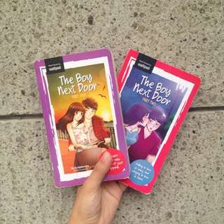 BUNDLE!!! The Boy Next Door (ScribblerMia)