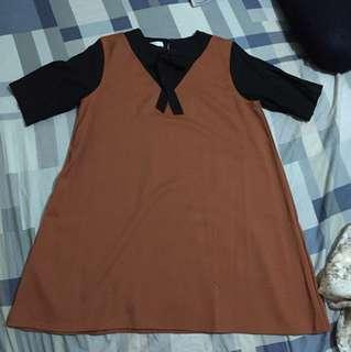 Dress korea fit to XXL