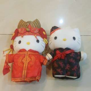 Hello Kitty chinese wedding couple