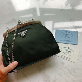 Prada vintage small chain bag