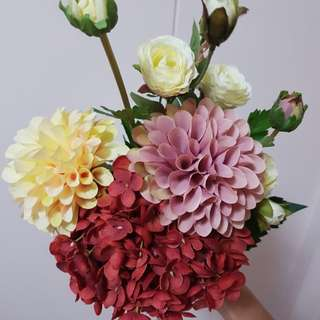 Artificial Hand Flower Bouquet