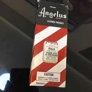 Angelus Black Suede Dye & Dressing