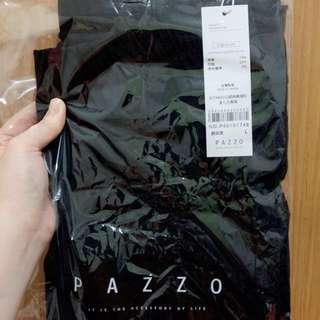 PAZZO 全新✨ 顯瘦貼身九分黑褲