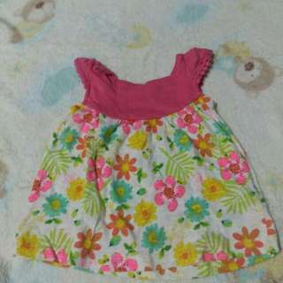 Mothercare Floral Blouse for Newborn Baby Girl