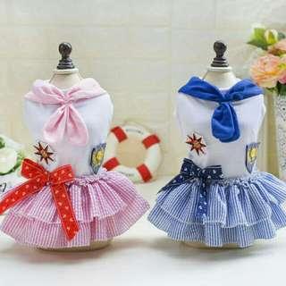 Sailor Pet Dress