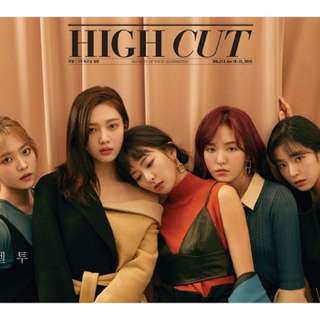 Red velvet High cut