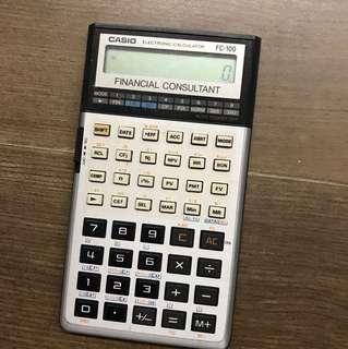 CASIO FC-100 Electronic Calculator 電子計算機