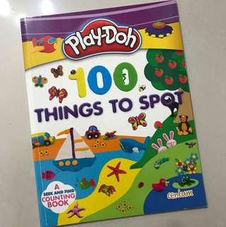 Playdoh 100 things to spot