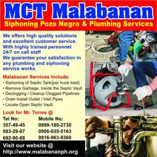 MT Malabanan Pasig city Septic Tank services