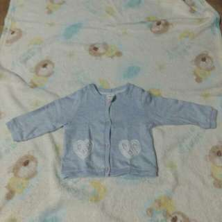 H&M Light Blue Cardigan for Baby Girl