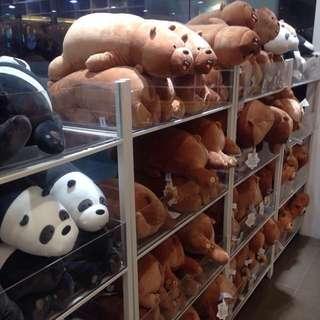 We Bare Bears Plushies