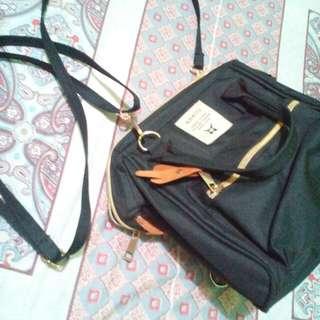 REPRICED!!!  Anello 3-Way Bag