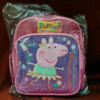 NEW Peppa Pig Pink Backpack 全新粉紅小豬佩奇背囊