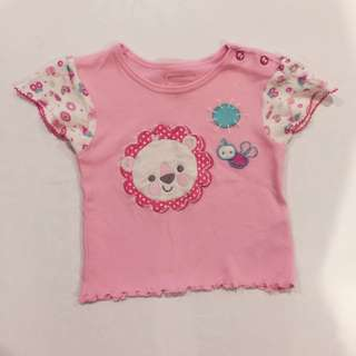 Fisher-Price (6-12 months) Pink Blouse
