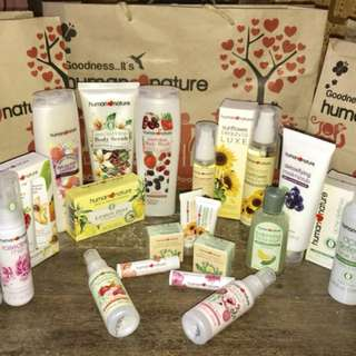 Human Nature Products as low as 62.75! PM me for details