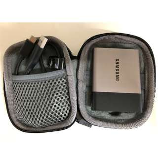 Samsung T3 500gb External Hard Disk SSD WITH CASING