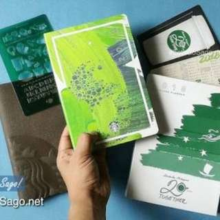 Repriced. Starbucks Planner Sealed (Big Green)