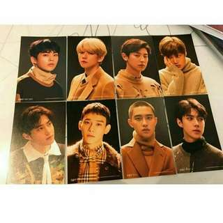 EXO UNIVERSE OFFICIAL 4x6 PHOTOCARD 💕