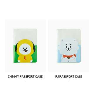 [NON PROFIT] BTS BT21 Passport Case