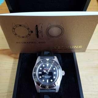 nethuns scubapro 500 潛水機械錶