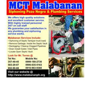 MT Malabana Siphoning Marikina city Services