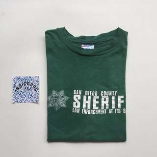 San Diego Country Sheriff by Hanes USA