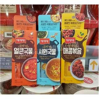 🚚 現貨 韓國 調理包 豆芽高湯 辣高湯 炒肉醬