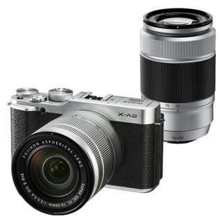 Fujifilm X-A2 Double lens 16-50mm & 50-230mm Kredit bisa 6bln bisa