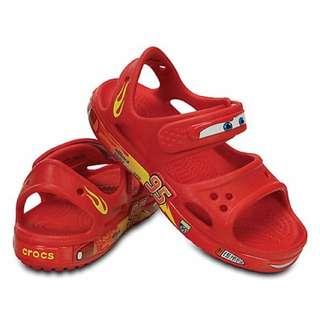 Crocs Cars Lightning McQueen Sandals 男童 涼鞋