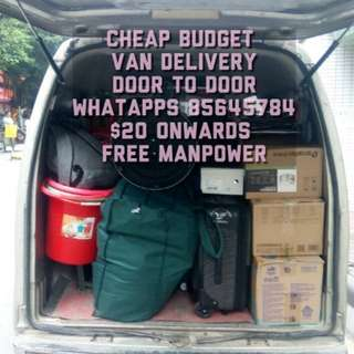 Door to door reasonable with free manpower from $20 onwards