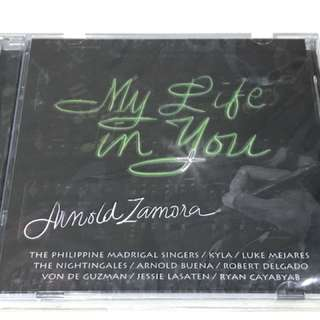 Arnold Zamora CD - My life in You (MADZ)